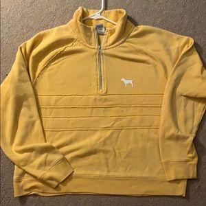 Pinks (yellow) 1/4th zip
